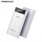 PISEN 18650 ЖК-Дисплей Power Bank 20000 мАч Внешний Портативный Аккумулятор Мобильное Зарядное Устройство Dual USB Powerbank для iPhone xiaomi
