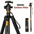 Оригинальный QZSD Q999C профессиональный углеродного волокна камеры dslr-штатив монопод мяч головой / портативный фотоаппарат стенд / лучше , чем Q999
