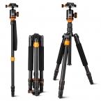 SL288 Профессиональный Портативный Путешествия Штатив/Монопод Шаровой Головкой Комплект Для Canon Nikon Sony OLYMPUS Pentax DSLR Камеры/Камеры Стоят