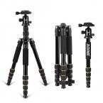 Zomei Q666 Профессиональный Штатив Для DSLR Камеры Шаровой Головкой монопод Штатив Компактный Путешествия Камеры Стенд для Canon Nikon Sony SLR