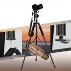 Q999S Портативных путешествия 6 КГ медведь монопод стенд профессиональная цифровая камера штатив для slr dslr видео tripodes пункт рефлекс