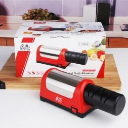 TAIDEA Точило T1031D Два Этапа Алмаз Кухонный Нож 2 слота Электрический Алмаз стали керамический нож точилка ЕС plug
