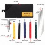 Роскошный 5-камень Molibao заточки ножей Заточка Система Дополнительные Грубой Заточки ножей Комплект Лучший Профессиональный Точилка