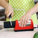 Кухня Электрический Алмазная Точилка Камень 2 Этапа Точильщик Заточки Керамический Нож/Ножницы Алмаз Кухонный Нож ЕС plug
