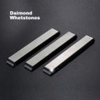 Кухня Инструмент Заточки Ножей Edge Diamond Whetstone шлифовальные Камни Прочный для Ruixin Pro Заточки ножей Система 1 Компл. 3 шт.
