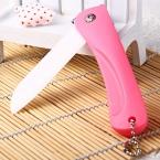 Keramic керамической Складной Карманный Нож Фрукты Овощи Нож Для Очистки Овощей Мини Ножи для Кухни На Открытом Воздухе Кемпинга Домашнего Использования