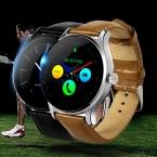 Оригинал K88H Smart Watch MTK2502 Bluetooth Smartwatch Монитор Сердечного ритма Носимых Устройств Водонепроницаемый Наручные Часы Для IOS Android