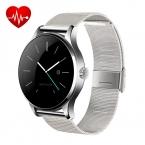 Оригинал K88H Bluetooth 4.0 Smart Watch MTK2502 Сердечного ритма Трек Сна Монитор Шагомер Водонепроницаемый Наручные Часы Для IOS Android