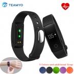 Smartband Teamyo ID107 Умный Браслет Bluetooth 4.0 OLED Монитор Сердечного ритма Активно Фитнес-Трекер Сна Монитора Smart Браслет