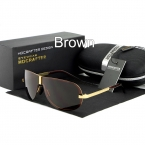 , хит продаж, модные поляризационные солнцезащитные очки, для вождение, для улицы, мужские, фирменный дизайн, высокое качество, 4 цвета