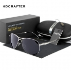Оптовая  Мода Поляризованных мужская Солнцезащитные Очки солнцезащитные очки Мужчины UV400 Марка Дизайнер с Высоким Качеством