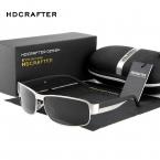 HDCRAFTER Мода Вождения Солнцезащитные Очки для Мужчин Поляризованных Солнцезащитных Очков UV400 Защиты Марка Дизайн Очки Высокого Качества Óculos