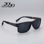 Классическая Мода Поляризованный Черный Солнцезащитные Очки Мужчины Открытый Спорт Очки Для Вождения Рыбалка Квадратных Солнцезащитные Очки С Коробка Gafas PL268