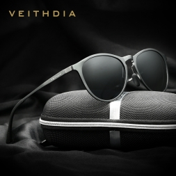 Прибытие VEITHDIA Старинные Ретро Бренд Дизайнер Солнцезащитных Очков Мужчины/Женщины Мужчины Солнцезащитные Очки gafas óculos-де-сол мужской 6625