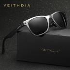 VEITHDIA Поляризованных Квадратных Солнцезащитные Очки Мужчины Женщины Марка Дизайнер Солнцезащитные Очки очки gafas óculos-де-сол мужской