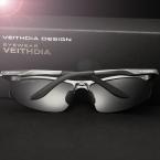 VEITHDIA Новые Спортивные Солнцезащитные Очки Мужчины Модной Поляризованный Старинные Мужчины Солнцезащитные Очки gafas óculos де золь masculino 6529
