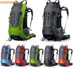 Марка Creeper 45L-65L водонепроницаемый женщин и мужчин открытый спорт путешествия рюкзак для скалолазания отдых туризм велоспорт сумка для ноутбука
