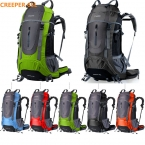 Creeper 45L 60L и 65L водонепроницаемый женщин и мужчин открытый спорт путешествия рюкзак для скалолазания отдых туризм велоспорт сумка для ноутбука