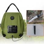 Лагерь душ 20L портативный Открытый с термометр душ сумка открытый кемпинг Солнечный Душ Вода Мешок