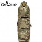 Воздухе Airsoft Пейнтбол Molle Рюкзак Экономка Сумка борьба плечо сумки Нападение сумка мужская рюкзак LY0004