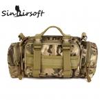 Усовершенствованная спортивная сумка MOLLE 3 функции: на плечо, на пояс, в руке. Ультра легкая сверхпрочная камуфлированная сумка для охотника, солдата,
