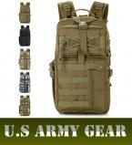 D5column Мужчины Военная Тактика Нападение Повседневная Рюкзак Molle System 3 день Жизни Ошибка Из Мешка SWAT Небольшой Поход Сумки пакет