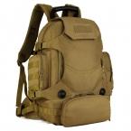 40L Открытый Военная Тактическая Путешествия Водонепроницаемый Пакет Большой Емкости Человек Спорт Рюкзак Сумка Камуфляж Армии Тактические Рюкзак J57
