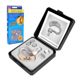 Слуховой аппарат XINGMA XM-907 Малый Невидимый Слуховые Аппараты для пожилых людей Лучший Звук Усилитель Голоса Мини Удобный За Ухом