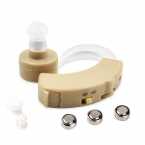 Слуховые Аппараты Small Mini За Ухом Лучший Звук Усилитель Голоса Регулируемый Тон Цифровой Дешевые Слуховые аппараты для Пожилых Людей