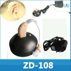 Лучший звук перезаряжаемый усилитель MINI помощи слуховые аппараты устройство регулируемый тон личная ухо уход инструмент подарок
