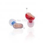 Ручное Управление, полностью Цифровой слуховой аппарат Мини-Настраиваемый Усилитель Звука в Ухо Слуховой аппарат СПИД D-C-E2