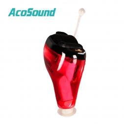 AcoSound Acomate 610 Мгновенных Fit Качества 6 канал Цифровой Ухо Слуховой аппарат Стандартный Vioce Красный Цвет для Правого Уха