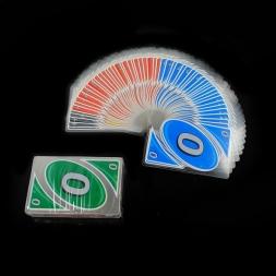 ГОРЯЧАЯ uno пластиковые прозрачные игральных карт, водонепроницаемый доказательство воды настольные игры family fun покер игры россии правила 528