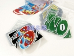 НОВЫЙ Водонепроницаемый и сложить пластик версия роскошный UNO Покер Карты, Игра в Карты