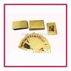 Евро-стиль покер 100 палубы / много золотой фольги игральные карты оптовая продажа