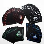 Алюминиевые Окна Матовое Водонепроницаемый ПВХ Покер Игральные карты Новизна Высокое Качество Коллекция Настольная Игра Подарок Прочный