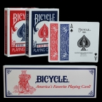 Один Десяток 12 шт. Оригинальный Покер Велосипед Велосипед Магия Регулярные Игральные карты Rider Вернуться Стандартный Палубы Фокус Красный Синий покер