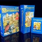 Английский Каркассон Основной, 6 Расширение Реки/Башня/Катапульты/Граф/King/Chaser Настольная Игра Карточная Игра Английской игры