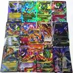 60 Шт./лот Китай Производство Высокое Качество Английский Pokemon Card EX флэш-Карты Карты Коллекции Нет Повторите 47 Основной   13 МЕГА