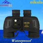 Nikula бинокулярный 7x50 Военная Мощный бинокль Дальномер с цифровой Компас телескоп Ночного Видения тактический водонепроницаемый