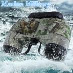 Бинокль Boshile 10x50 профессиональный Военный Морской бинокль с Навигация Компас телескоп ночного visionEyepiece фокусировки