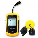 Бесплатная Доставка лаки FF1108-1 Портативный Эхолот Глубина Sonar Эхолот Сигнализации Водонепроницаемый sonar эхолот Fishfinder 100 М 328 Футов