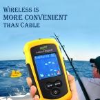 Бесплатная Доставка лаки FFW1108-1 Портативный 120 м Беспроводной Эхолот Сигнализация 40 М/130FT Глубина Sonar Океан Реки
