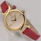 Юлий  Известная Марка смотреть Женщины кожа наручные часы женщины платье часы повседневная кварцевые часы Роскошные наручные часы 5 цветов