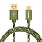 VOXLINK Нейлон 0.25 м/1 м/2 м/3 м Кабель Micro Usb Тип C 8Pin Быстрая Зарядка USB кабель Для Apple MacBook iPhone Samsung Huawei HTC