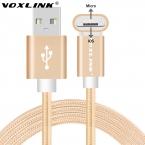 VOXLINK Оригинальный USB Кабель Micro 8pin 2in1 Синхронизации Данных Зарядки Usb-кабель для iPhone 6 6 s Plus 5c 5S Samsung Xiaomi Huawei LG Meizu