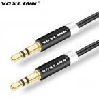 VOXLINK 3.5 мм Aux Аудио Кабель 1 М 2 М 3 М Мужчины к Мужчине Удлинитель аудио Стерео Кабель Для Автомобиля iPhone 5 6 6 s plus Samsung S6