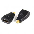HDMI Женский к Micro HDMI Мужской Адаптер F/M Конвертер Разъем HD TV Камеры для адаптер hdmi convertidor HDMI Золото Зажигания гнездо