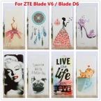 Роскошные Кристалла Алмаза 3D чехол для ZTE Blade V6 Лезвие D6 Bling блеск Жесткий Протектор Крышки Случая Для ZTE Blade V6 Лезвие D6 случаях