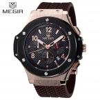 Relojes hombre  новая мода военная стильный MEGIR АБСОЛЮТНО мужские армии календарь резина мужчины мужской часы спорт роскошные часы militar